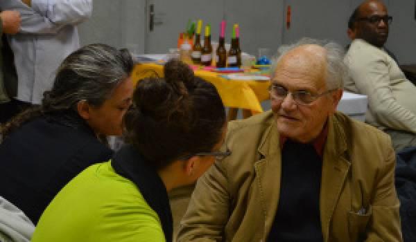Claude Lasnel, promoteur de l'interculturalité.