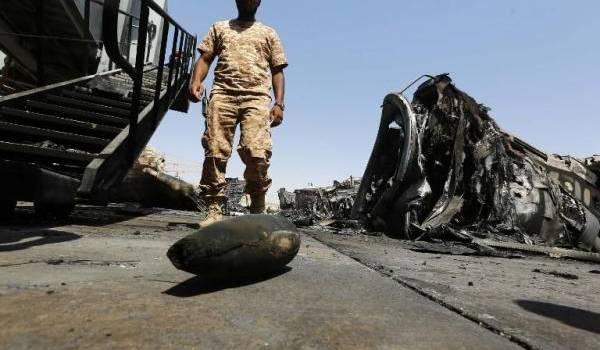 La Libye ne relève pas encore de l'emprise des milices.