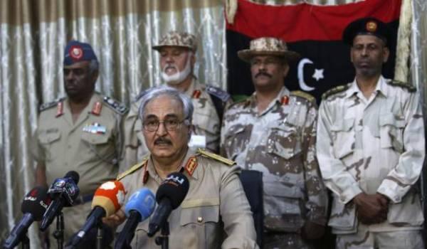 Le général à la retraite Khalifa Haftar a engagé un combat meurtrier contre les islamistes.