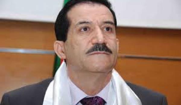Amar Ghoul, ministre des Transports