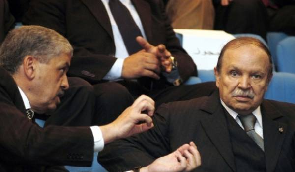 Sellal et Bouteflika.