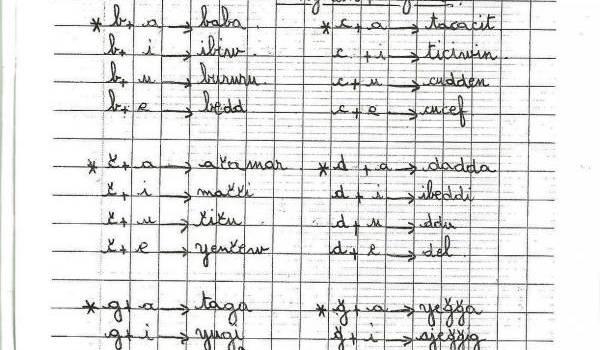 L'enseignement de l'amazigh : le cahier de classe qui fait  trembler royaumes et républiques