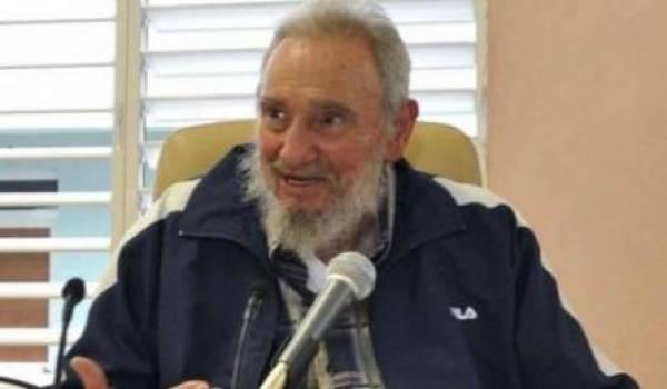 Fidel Castro est réapparu pour soutenir les Palestiniens dans leur lutte contre Israël.