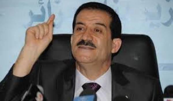 Amar Ghoul, ministre des Transports, a justifié l'incurie d'Air Algérie par la main de l'étranger.