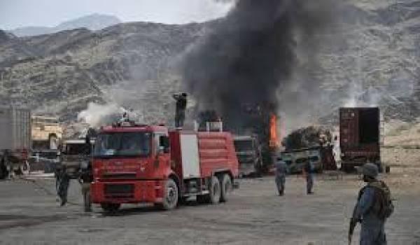 Huit explosions ont été entendues sur la base de Samungli, Balouchistan.
