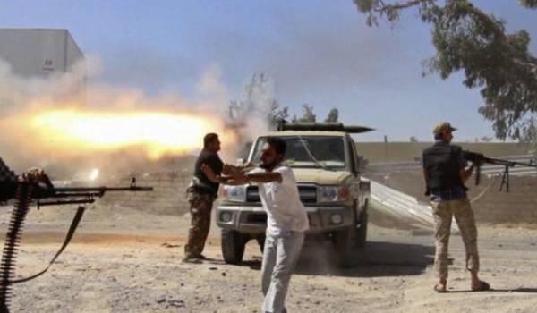La Libye sous l'emprise de groupes armés.