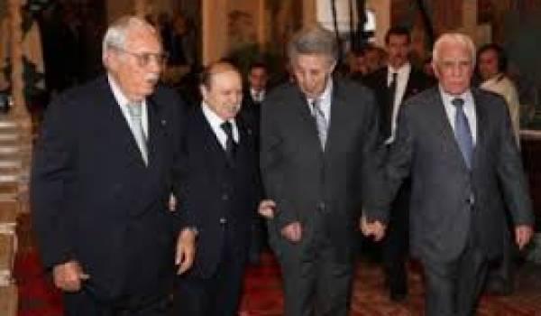 Les présidents algériens source d'une gouvernance rentière du pays.