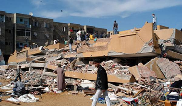 Le séisme de 2003 est encore dans toutes les mémoires.