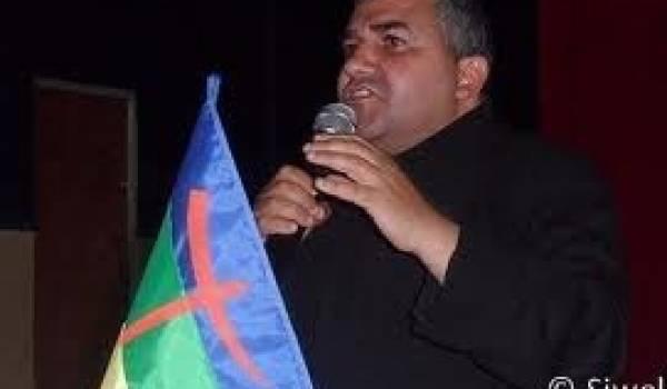 Bouaziz Aït Chebib, président du MAK.