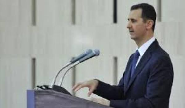 Al Assad et Damas épargnés pour le moment par une intervention de la coalition occidentale.