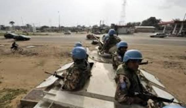 Quatre Casques bleus de l'ONU ont été tués dans un attentat
