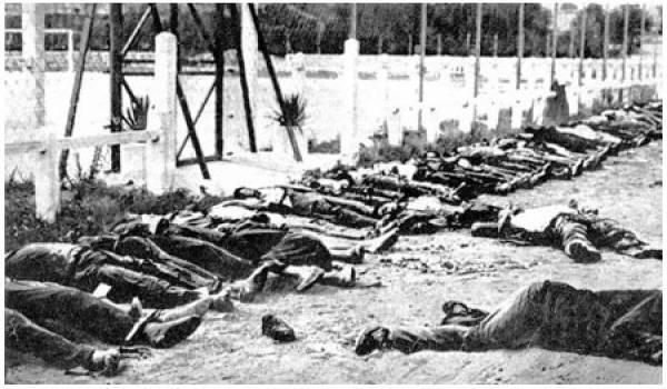 """Le meurtre de masse, c'était """"la pacification"""" à la française en Algérie."""