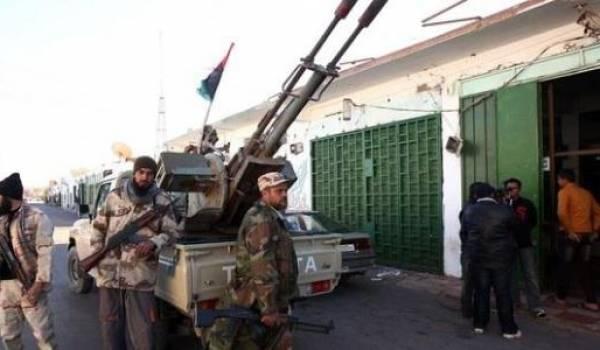 La Libye est plongée depuis début juillet dans une guerre de milices.