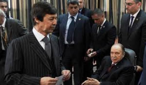 Saïd Bouteflika se prépare soigneusement pour prendre la place de son frère.