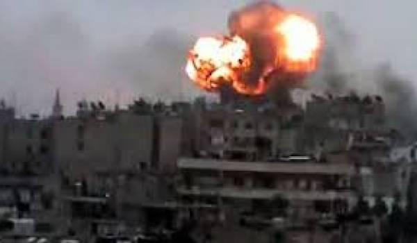 Une cinquantaine de civils tués par l'aviation de Damas.