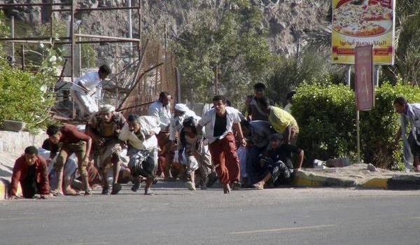 De fortes explosions dans la capitale yéménite.