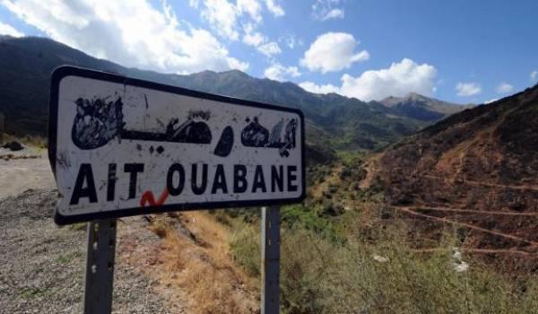 Le groupe de randonneurs dont Hervé Gourdel a été surpris dans la dense forêt d'Aït Ouabane, .