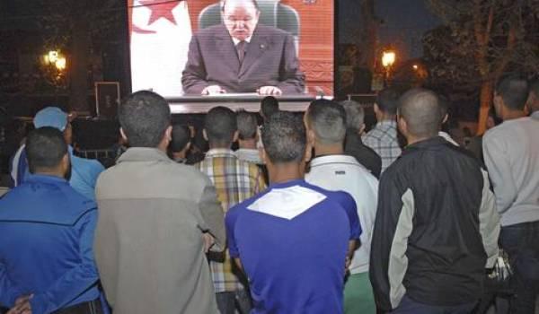 L'Algérie, un pays suspendu aux apparitions minutées du président.