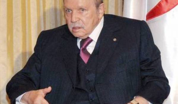 Abdelaziz Bouteflika n'est plus apparu depuis le 21 septembre.