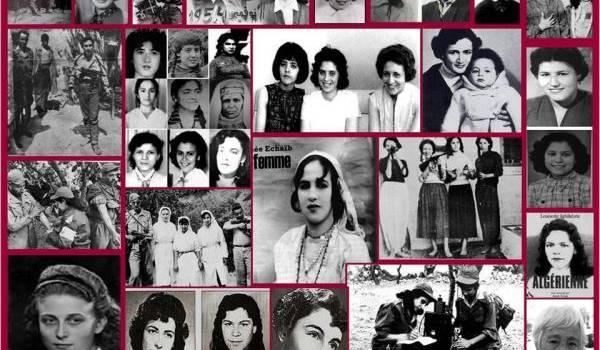 Les femmes résistantes algériennes.