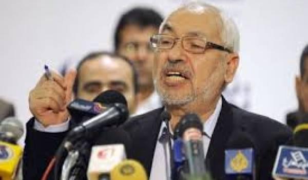Rached Ghannouchi, le leader d'Ennahda