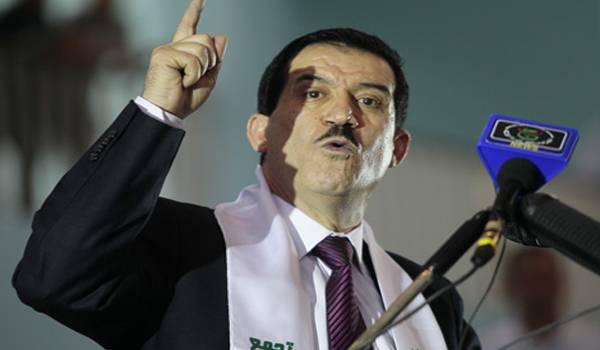 Amar Ghoul, ministre des Transports.