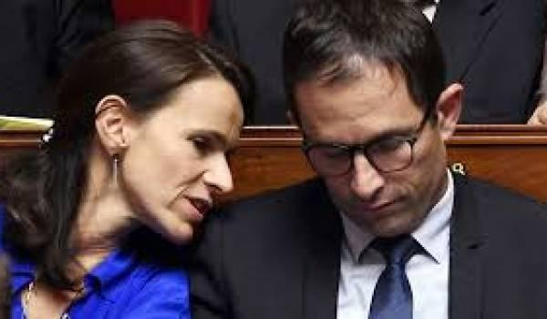Aurélie Filippetti et Benoît Hamon