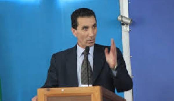 Mohamed Nebbou, premier secrétaire du FFS.