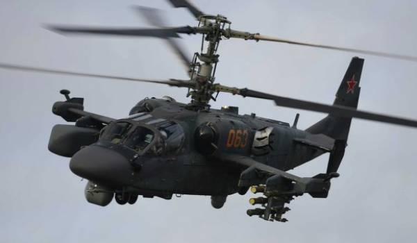 Un hélicoptère militaire russe.