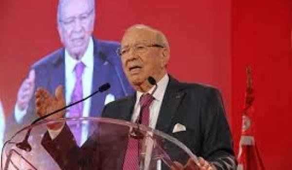Caid Beji Essebci, patron de Nidaa Tounès