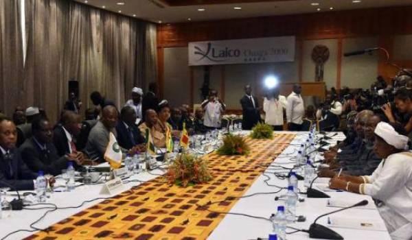 Réunion opposition et chefs d'Etat à Ouagadougou.