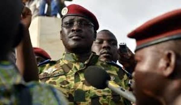 Le lieutenant colonel Yacouba Isaac Zida.