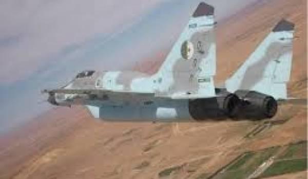Un Mig de l'aviation algérienne.