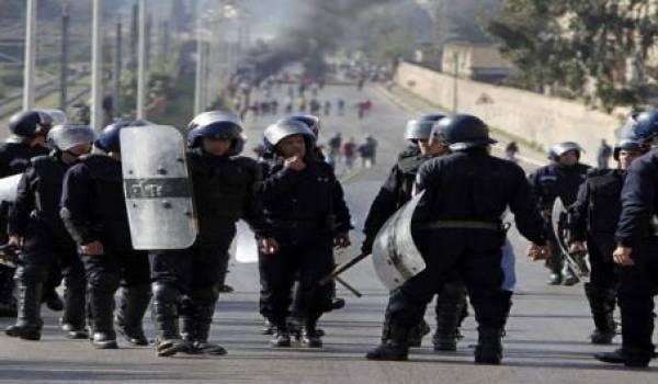 L'intervention de la police à Touggourt a causé la mort de deux manifestants.
