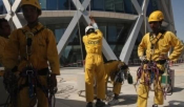 Le Qatar ne respecte pas les conventions internationales sur le droit au travail.