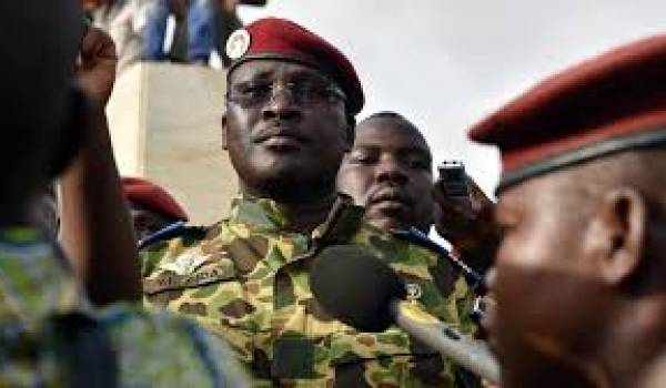 Le lieutenant colonel Zida