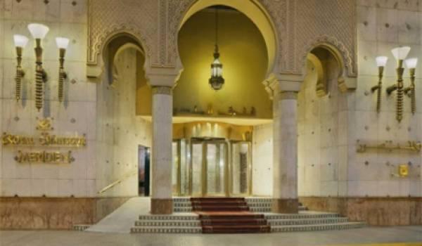 Le palais Royal Mansour.