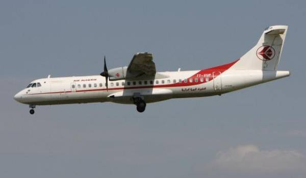 Un des 12 ATR d'Air Algérie.