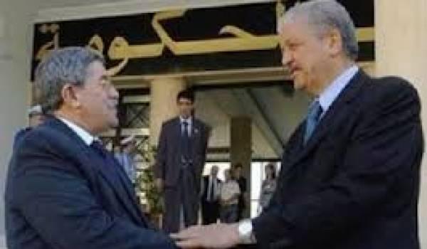 Ahmed Ouyahia et Abdelmalek Sellal, deux hommes politiques sans état d'âme.