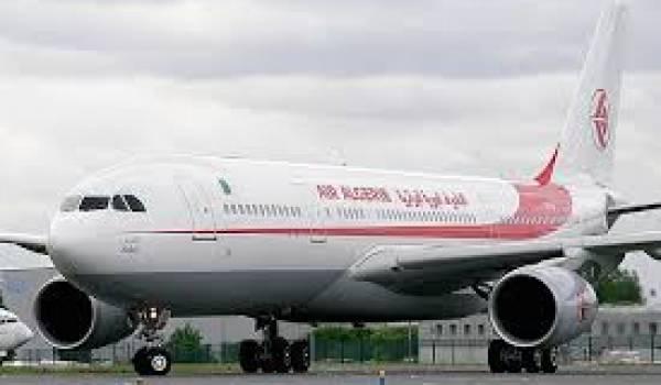 Air Algérie sur le point de récupérer à Bruxelles sont avion contre le paiement de 2 millions de dollars.
