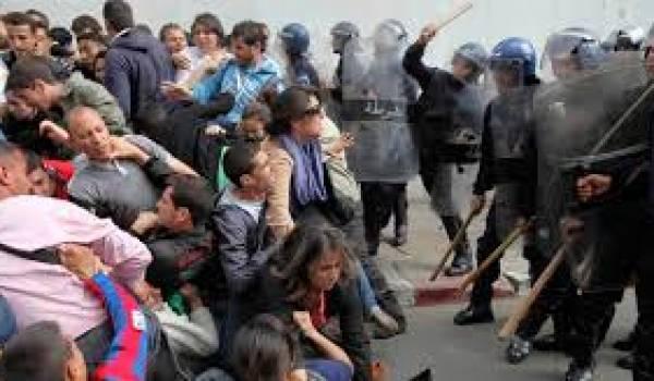 Le pouvoir a toujours fait appel à la police pour réprimer l'opposition.