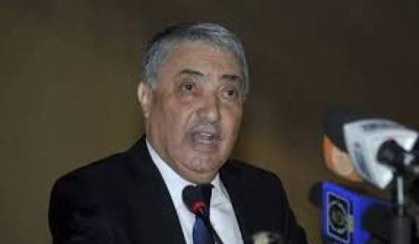 Ali Benflis, le coordinateur du Pôle des forces du changement.