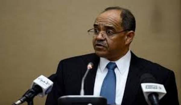 Le gouverneur de la Banque d'Algérie, Mohamed Laksaci,