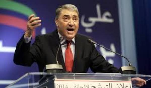 Ali benflis pourfend le minist re de l int rieur alg rie for Ministere exterieur algerie
