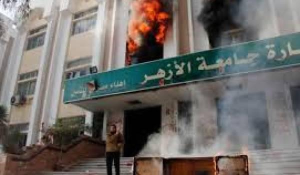 Manifestations violentes et répression aveugle émaillent le quotidien cairote sous le régime militaire.
