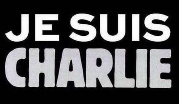Message de soutien à Charlie Hebdo.