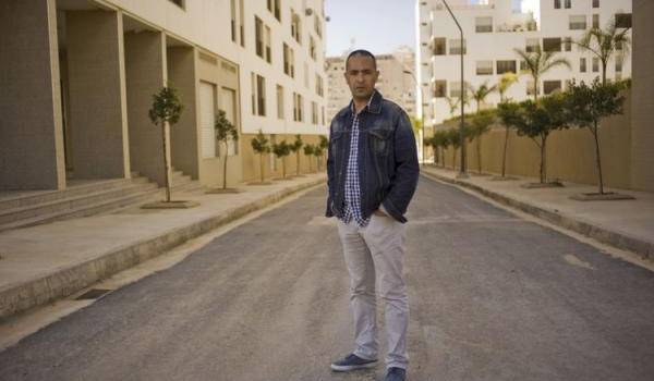 Kamel Daoud menacé de mort par un imam de service.  Photo Ferhat Bouda. Agence VU