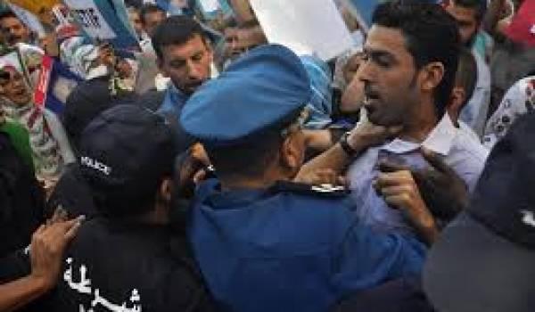 Les familles de disparus ne recueillent que répression de la part des autorités.