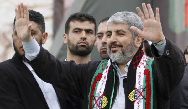 Khaled Mechaal, leader du Hamas.