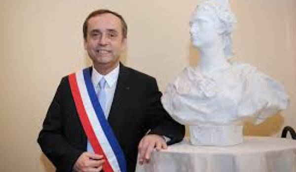 Robert Ménard, maire de Bézi,ers, proche du FN, l'extrême droite